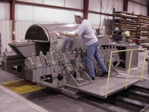 Erco 300 Ton - Skin and Leading Edge Stretch Forming